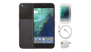 LOWEST PRICE EVER: Google Pixel XL Factory Unlocked with Case, Charger & Screen Protector (Refurbished) - 128GB or 32GB!