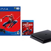 LIMITED AVAILABILITY: Sony PS4 1TB Slim Marvel Spider-Man Bundle (Renewed/Open Box) - Ships Quick!