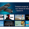 Amazon Fire 4K TV Stick with Alexa Voice Remote