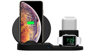 3 in 1 Wireless Charging Dock for Apple Watch, iPhone and Airpods - Ships Quick!