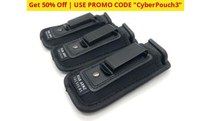 3 Pack: Universal Iwb Magazine Pouch 9Mm .40 .45 | Mag Holster For Glock 19 43 17 Sig 320 S&w M&p