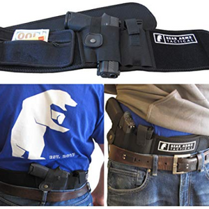 IT'S BACK: Belly Band Holster for Concealed Carry with Storage Pocket & Mag Pouch - Ships Quick!
