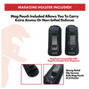 Universal IWB Holster for Concealed Carry + Mag Pouch I Fits S&W M&P Shield I Glock 26 27 30 42 43 & Many Others - Ships Quick!