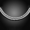 "18"" Curb Chain Necklace in 14K Gold - 3 Colors"