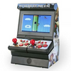 NEW HOLIDAY RELEASE: 1 or 2 Player Wireless Micro Arcade Machine with 300 Games and built-in controllers!