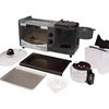 Courant 3-in-1 Multifunction Breakfast Hub (Toaster Oven, Griddle Pan, 5 Cup Coffee Maker) - Ships Quick!