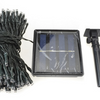 17-Meter String of 100 LED Solar-Powered Fairy Lights (1- or 2-Pack)