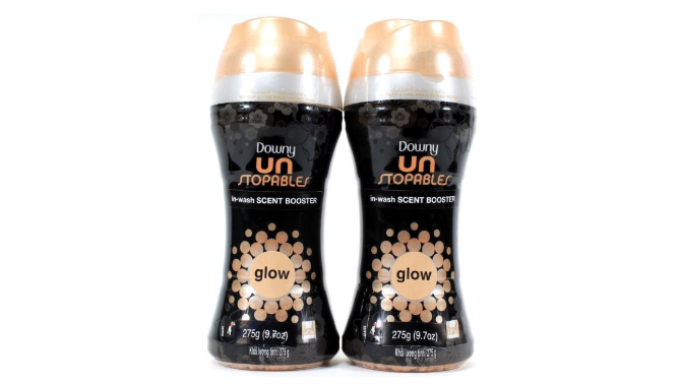 PRICE DROP - Downy Unstopables In-Wash Glow Scent Booster 9.7 Oz (6 or 12 Pack Options)!