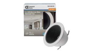 $4.50 EACH!! 4 in. 3000K Soft White Integrated LED Recessed Ultra Low Glare 625 Lumens - Ships Quick!
