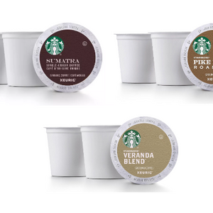 Buy Any 3 Get 1 Free! Starbucks K-Cup Coffee Pods - Ships Quick! Home