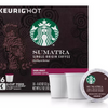 Buy Any 3 Get 1 Free! Starbucks K-Cup Coffee Pods - Ships Quick! Sumatra (64 Count) Home