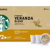 Buy Any 3 Get 1 Free! Starbucks K-Cup Coffee Pods - Ships Quick! Veranda Blend (72 Count) Home