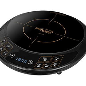 Brentwood Select TS-391 Single Electric Induction Cooktop, Black