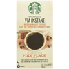 72 or 144 Count: Single Serve Starbucks VIA Brew Pike Place Roast Coffee (Past Best-By Date) - Ships quick!