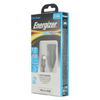 Energizer Hightech Dual Fast Charge Car Charger + Apple/LG Type C, Micro USB or Lightning Cables - Ships Quick!