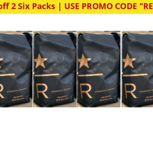 Starbucks Reserve Whole Bean Coffee (6 Pack) Past Best By Date - Ships Quick! Kenya-Reserve-6Pk Home