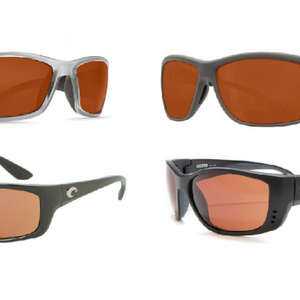 Costa Del Mar Polarized Sunglasses (New Models Just Hit Our Warehouse) - Ships Quick!