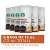 Starbucks Ground Coffee Blowout (6 or 12 Pack) - Past Best-By Date - Ships Quick!