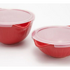 Mad Hungry 13-Piece Lip'n'Loop Mixing Bowl with Lids + Silicone Spurtle Set w/ Measuring Cup