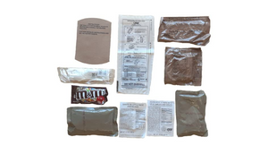 12 Pack: Ameriqual Relief 6-Piece MRE Meals - Be Prepared - Ships Quick!