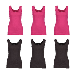 3-Pack: Gildan Women's Tanks