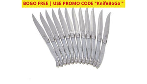 Buy One Get Free! Wolfgang Puck 12-Piece Steak Knife Set With Wooden Gift Boxes (24-Piece W/ Bogo)