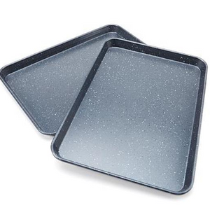 Curtis Stone Dura-Bake® Set of 2 Sheet Pans (New Open Box)