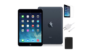 Apple iPad Mini 16GB Wi-Fi Bundle (Refurbished) - Ships Quick!