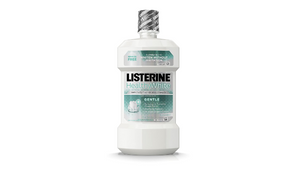 Listerine Healthy White Mouthwash Clean Mint - 16 oz