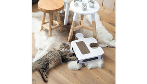 District 70 Puzzle Cardboard Cat Scratcher