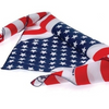 Pack of 3: USA Stars and Stripes 100% Cotton Bandana Face Mask - Ships Quick!