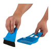miniWISP Broom and Dustpan Set - The Best Mini Hand Broom with Electrostatic Bristle Seal Technology