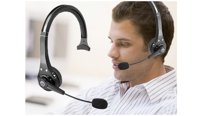 Premier Mobile Bluetooth Comfort Headset With Noise Cancelling Mic 1sale Deals