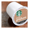 176 Count: Starbucks Flavored K-Cup Coffee Pods — Toasted Graham — 8 boxes of 22 (BB Date June 2020)