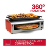 Ronco Pizza Chicken Appetizer Oven - Cooks 40% Faster, Auto Shut-Off, Dishwasher Safe - Ships Quick!