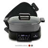 PRICE DROP: Paula Deen 2-in-1 16QT Family-Size Multi Cooker Pot and Grill - Ships Quick!