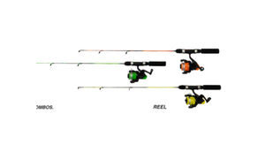2-Pack: Cannon Tackle 5' 2Pc SpinCombo Reels - Great for Kids & Adults!