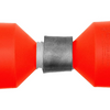 Pack of 2: Lindy Marker Buoy for Fishing - Internal Ballast Weights and 60 ft of Rot-Proof Cord - Ships Quick!