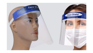 Transparent Face Shield (5, 10 or 20 Pack)