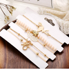 Wild Jungle Marble Stretch 5 Piece Bracelet Set