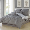 Esy Reversible 3-Piece Duvet Set in Grey