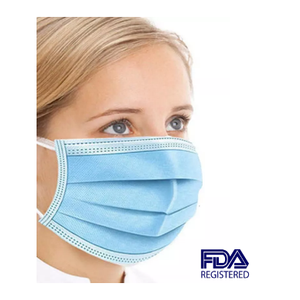 100 Pack FDA 3Ply Masks or 20 Pack FDA KN95 Masks - Ships Next Day From NY Warehouse!!