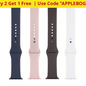 Buy 2 Get 1 Free: Apple Watch Sport Bands (38Mm/42Mm) - Bulk Packaging Ships Quick! Home