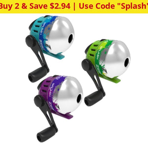 Zebco Splash Spincast Reels - Great For Kids And Rokie Fisherman Ships Quick! Home