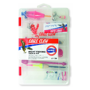 Eagle Claw Nightfish Tackle Kit - Ships Quick!