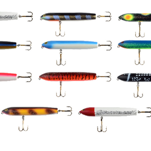"(As low as $5.75!) Random Assortment: Yakima Bait Poe's Havana Jackpot 8"" ""Surface Plugs - Ships Quick!"