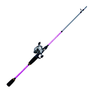 "Eagle Claw Trait ZALDAIN 6'4""- 1 pc- 6.3:1 Baitcast Combo, Black"