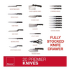 PRICE DROP: Ronco 20 Piece Knife Set, Includes Rocker Knife, Stainless Steel Knives, Includes 6 Steak Knives, Feature Full-Tang Handle, Professional Kitchen Knife Set