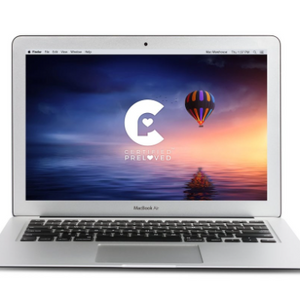 MACBOOK AIR i5 1.6GHz 13.3-INCH 2GBRAM 64GB With Magsafe Charger and Black Case (MD508LL/A) Refurbished