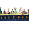 Hanukkah Menorah Hand Painted Collection - Stunningly Unique Chanukah Pieces of Art for ALL AGES - Ships Quick!
